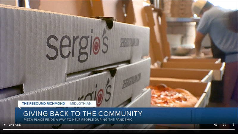 Sergio's CBS6 News Feature